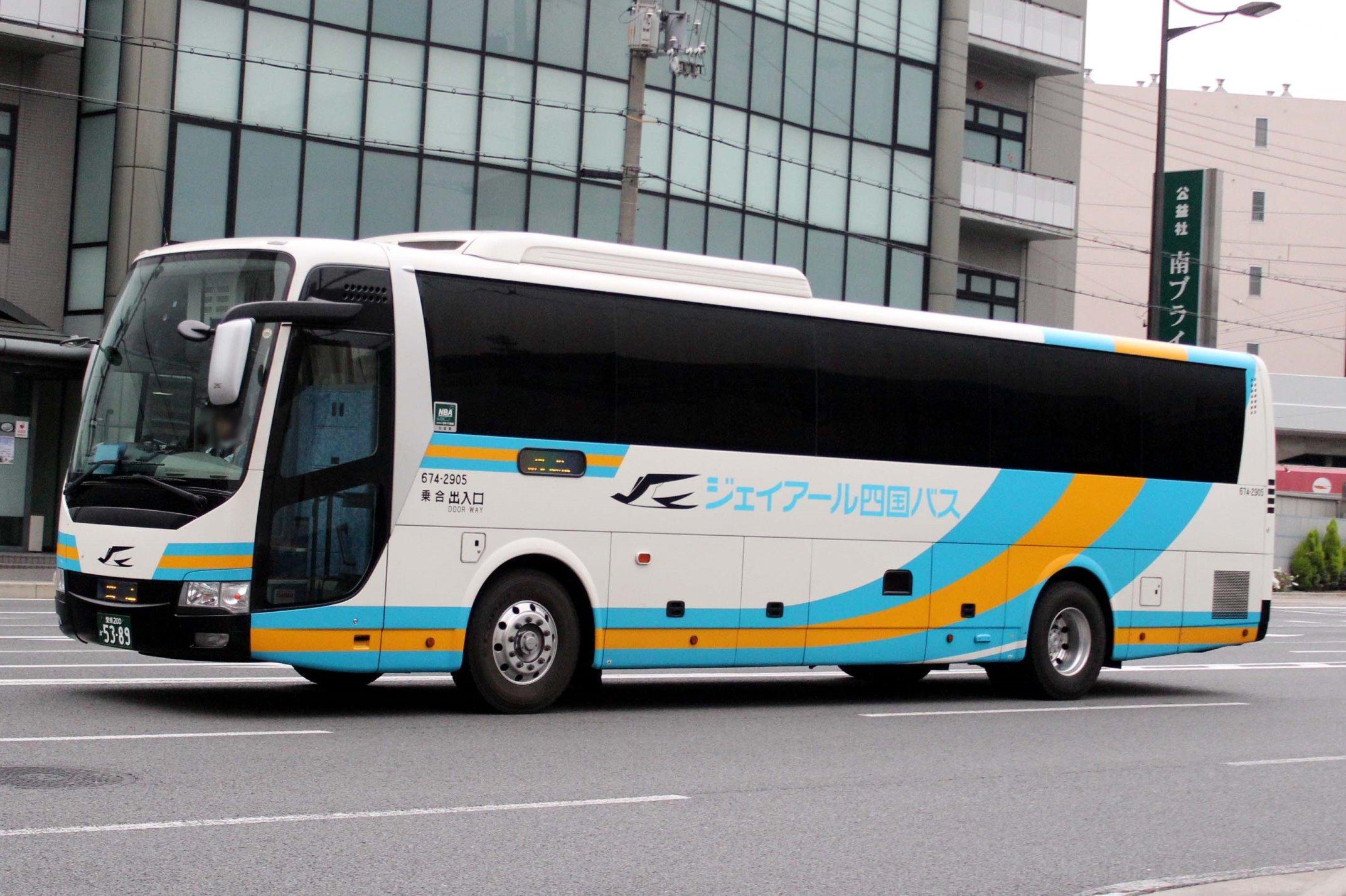 JR四国バス 674-2905