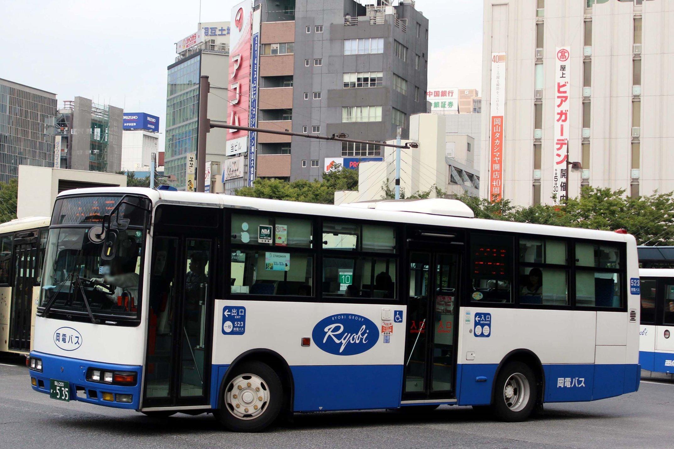 岡山電気軌道 523