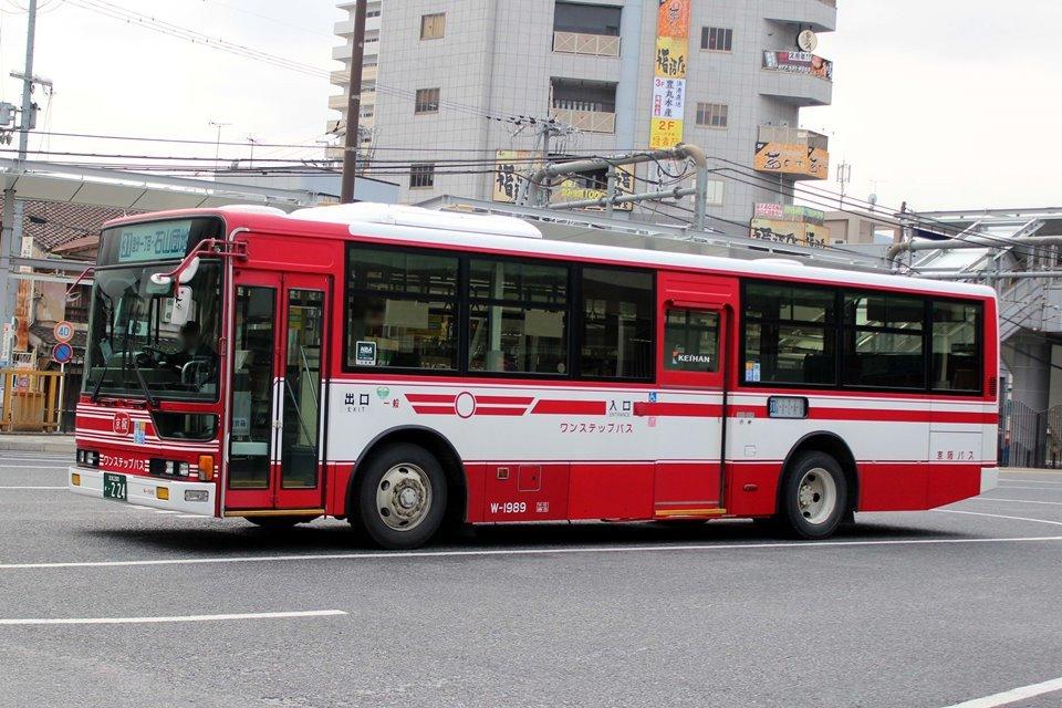 京阪バス W-1989