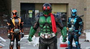 仮面ライダー1号と平成ライダー