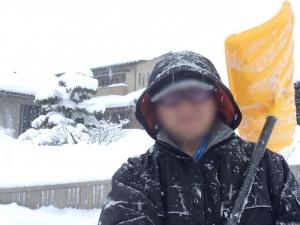 いざ!雪かき