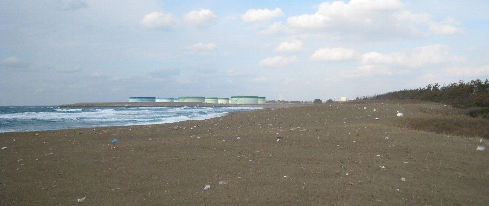 冒頭&ラストの海岸(1)