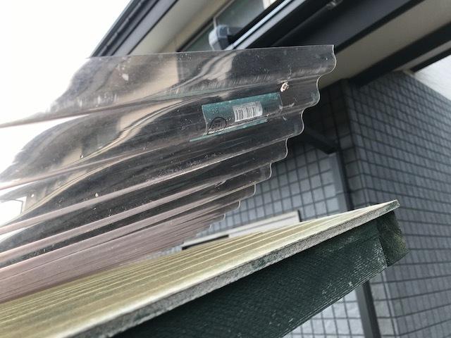 屋根が剥がれる1