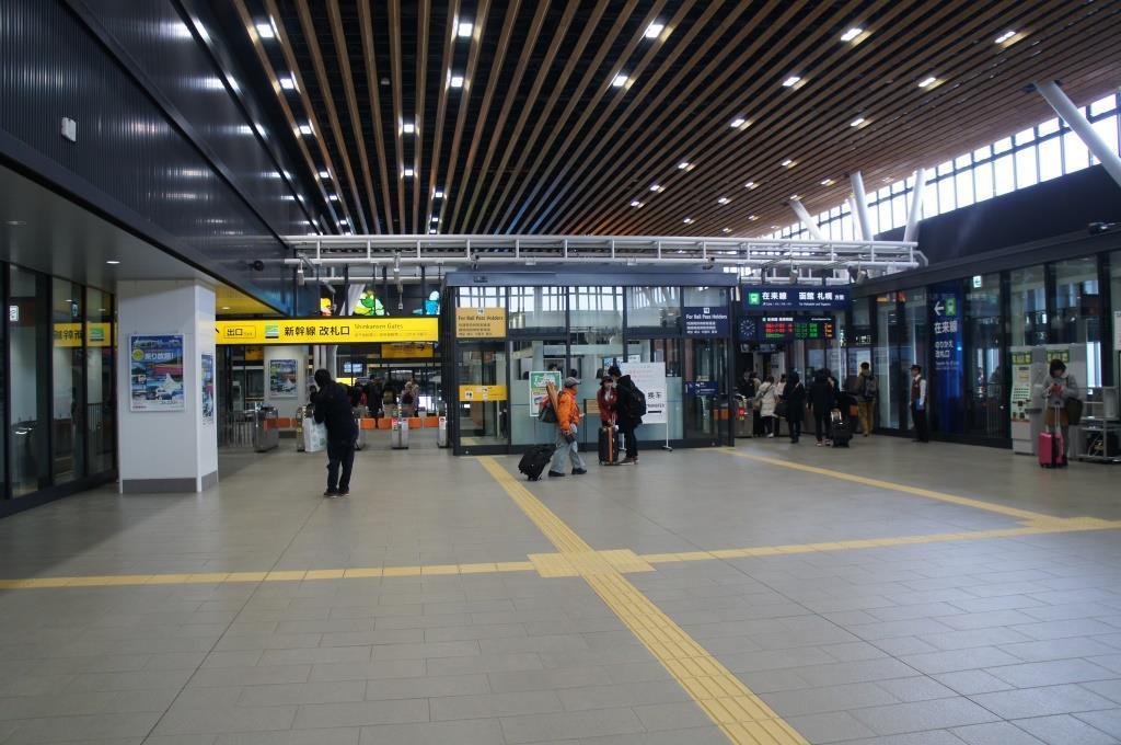 新函館北斗駅24