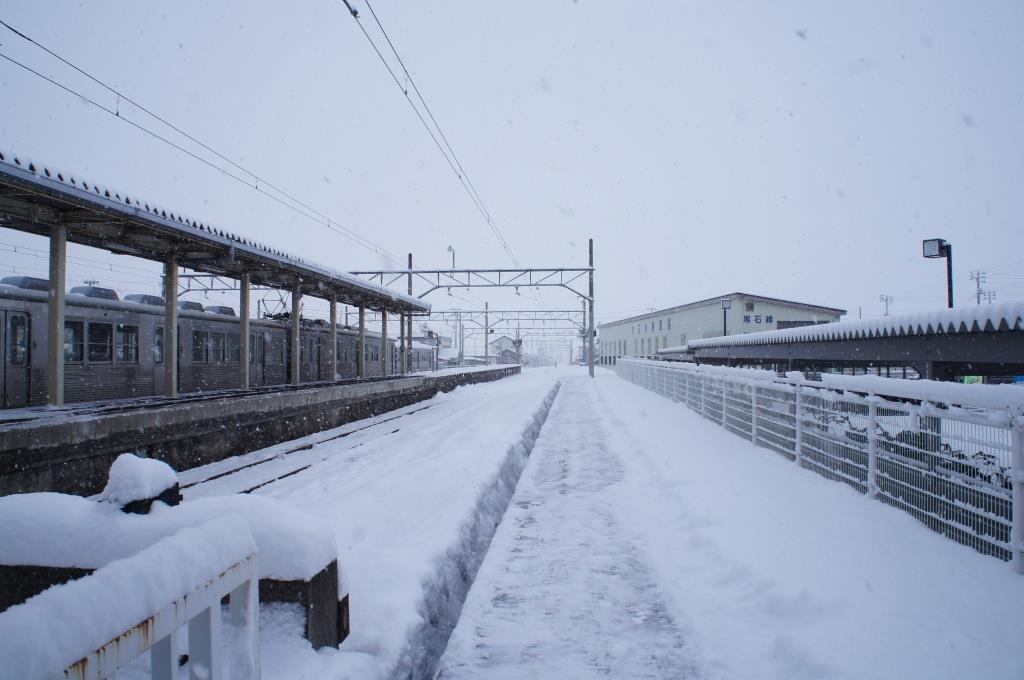 黒石駅16