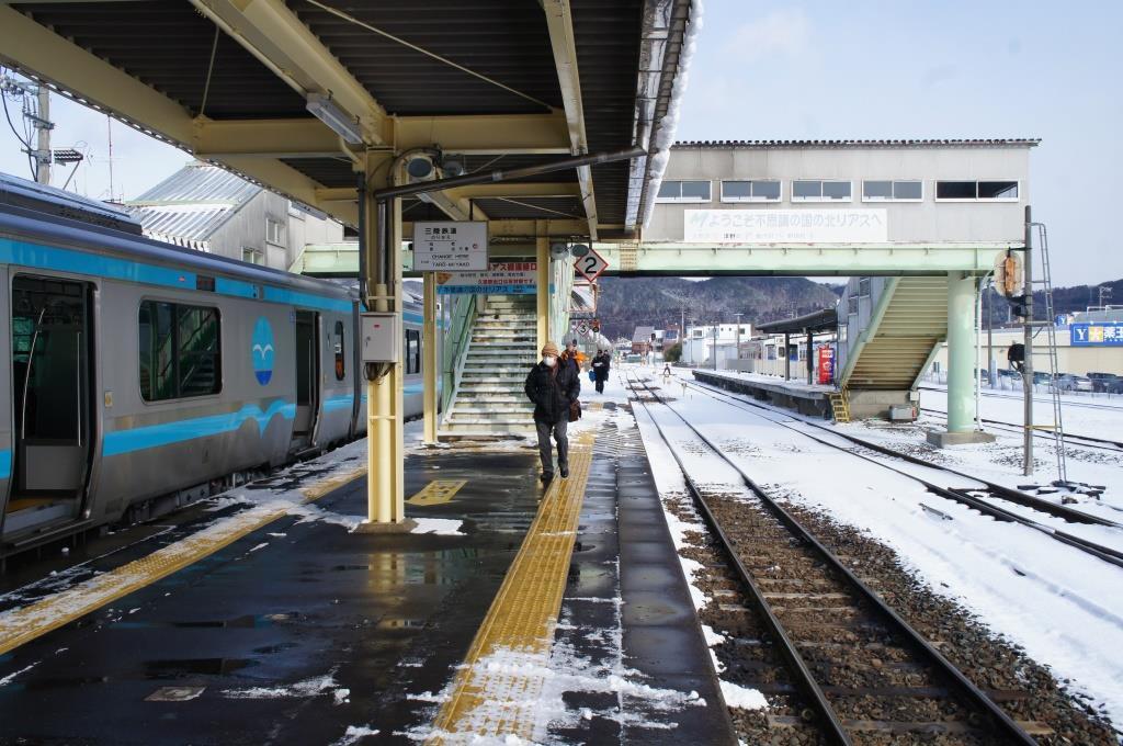 久慈駅12