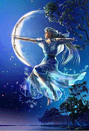 月 女神1