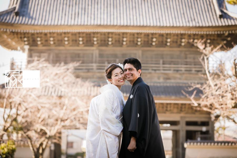 国際結婚縁鎌倉ウェディング和装前撮り01