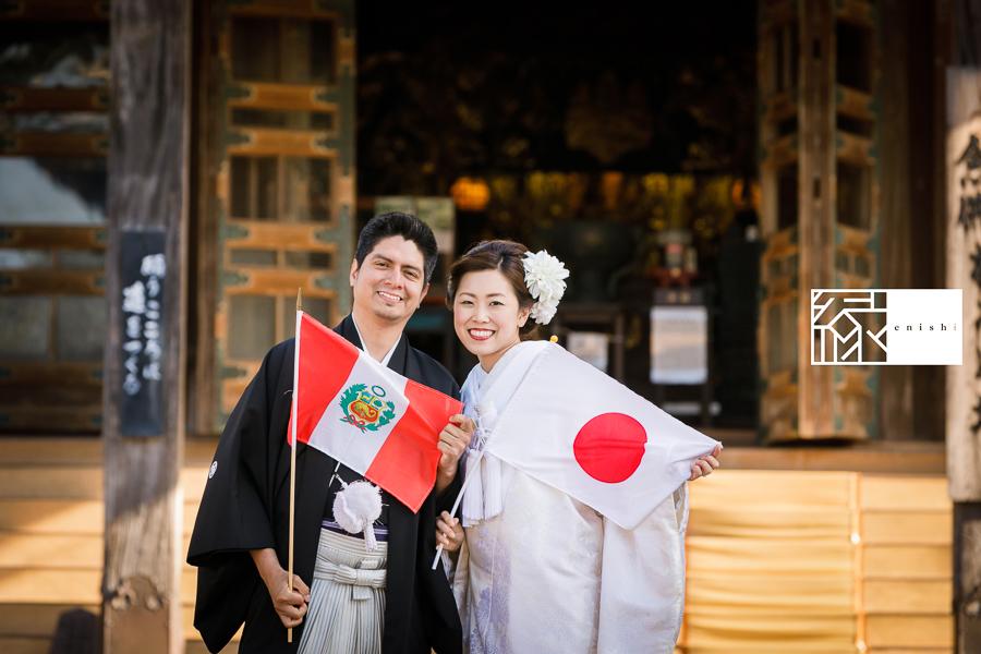 国際結婚縁鎌倉ウェディング和装前撮り05