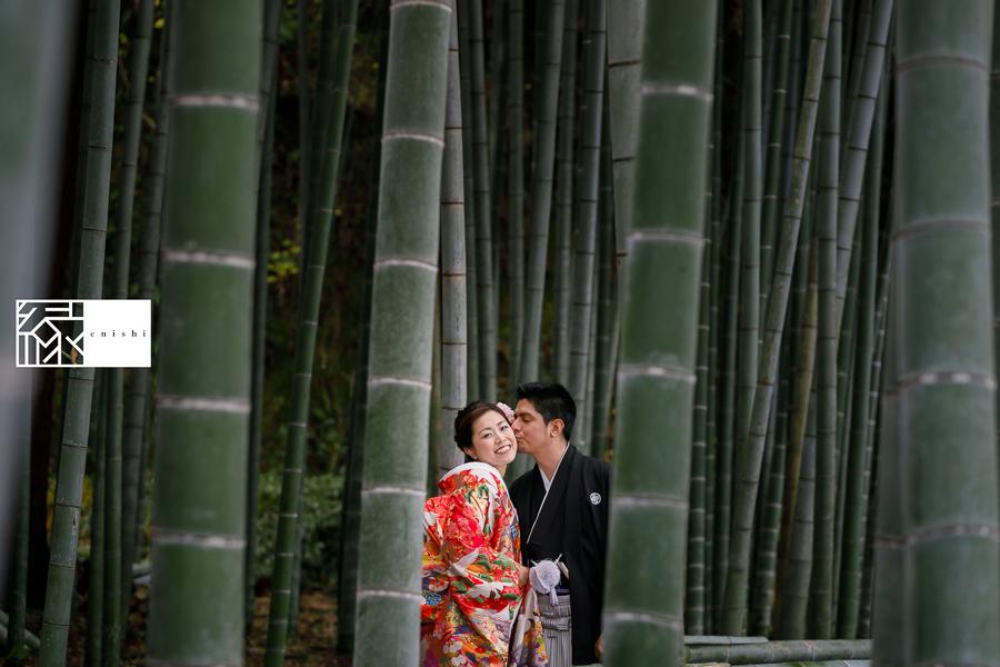 国際結婚縁鎌倉ウェディング和装前撮り06