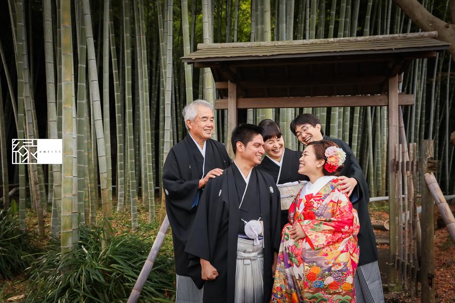 国際結婚縁鎌倉ウェディング和装前撮り07