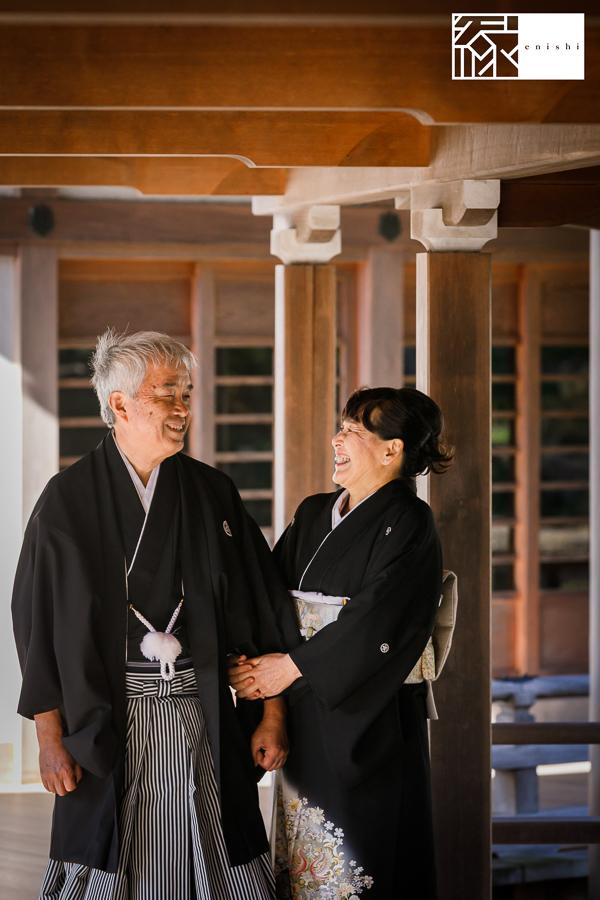 国際結婚縁鎌倉ウェディング和装前撮り08