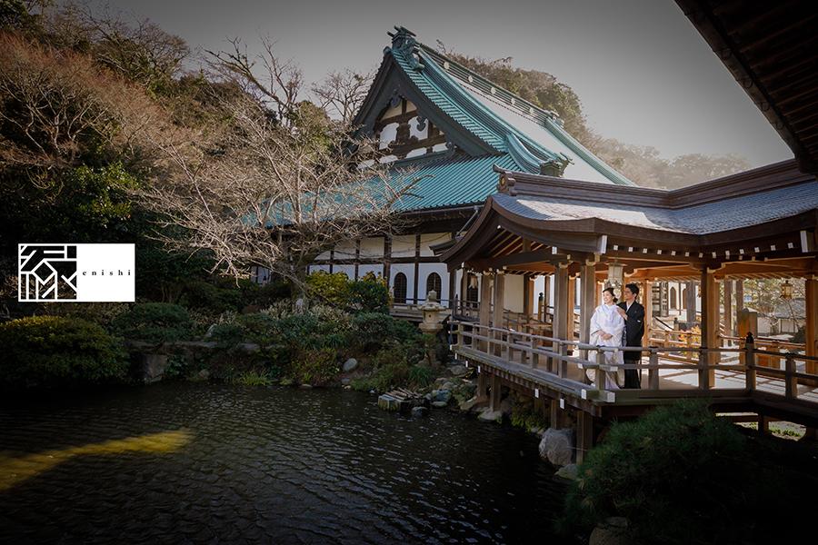 国際結婚縁鎌倉ウェディング和装前撮り10