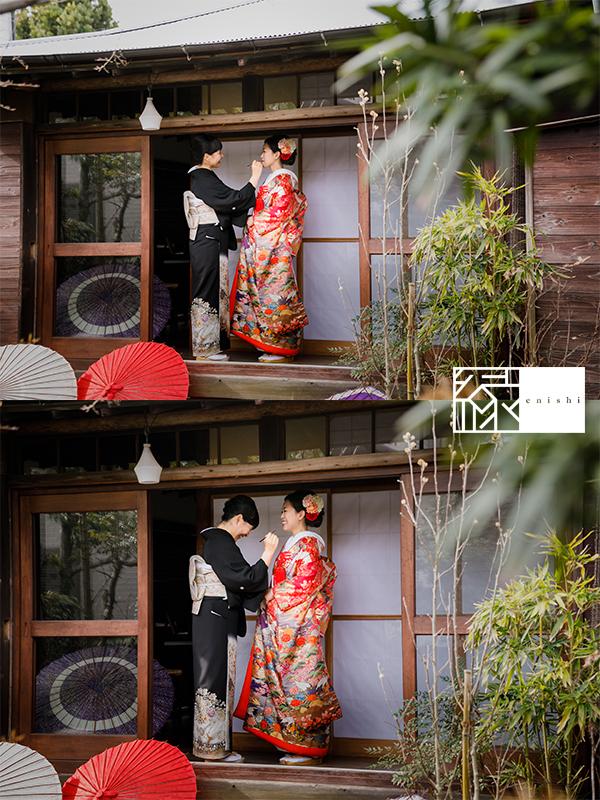 国際結婚縁鎌倉ウェディング和装前撮り09