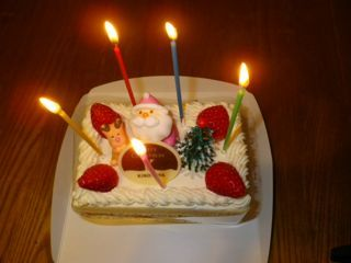 2017わがやのクリスマスケーキ