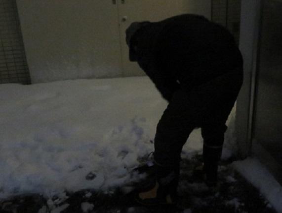 9A01 雪かき 0122