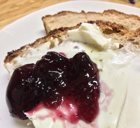 クリームチーズ ブルーベリー