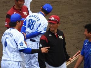 高須コーチも元気そう!