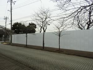 白い壁はありますが。