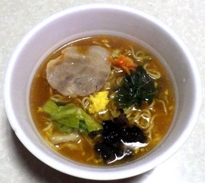 1/15発売 中華三昧PREMIUM 芳醇醤油広東麺(できあがり)