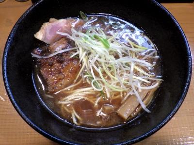 麺屋 一刃 鶏清湯ラーメン 醤油