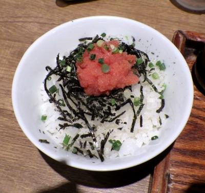 麺と心 7 明太子ご飯 バター醤油