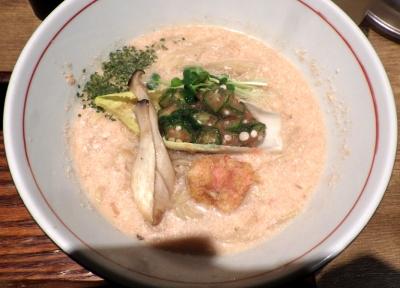 麺と心 7 明太子白湯ラーメン