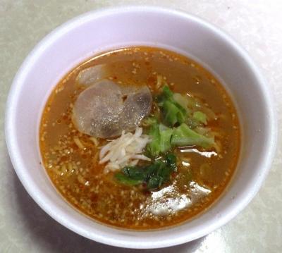 1/22発売 狼スープ 濃厚味噌らーめん(できあがり)