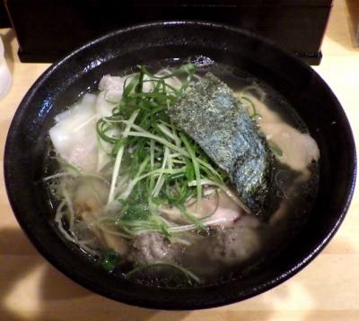 大阪麺哲 塩雲呑
