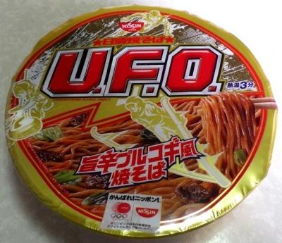 1/22発売 日清焼そば U.F.O. 旨辛プルコギ風焼そば