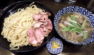 綿麺 フライデーナイト Part142 (18/1/12) 焼きネギとしめじのかすつけ麺