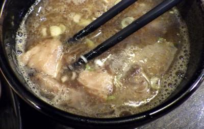 綿麺 14周年! つけ麺 大+スープ割り(つけ汁)