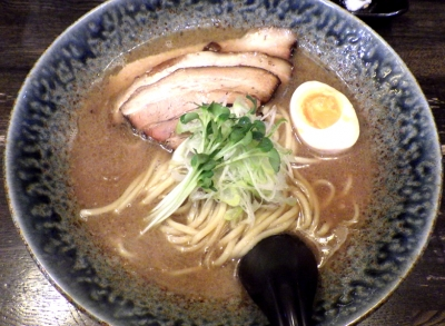 綿麺 和風とんこつ(2017年12月)