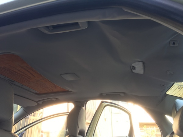 天井張替え ボルボS40