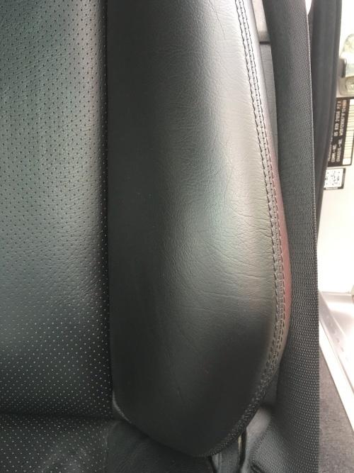 レザーシート 擦れ補修 ベンツSL500(W129)