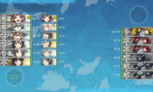 E2栗田U空襲
