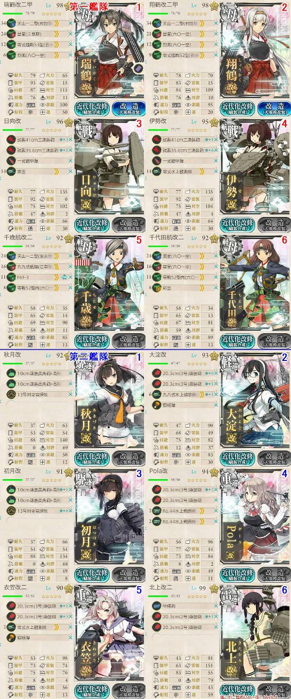 E3東小沢艦隊編成02