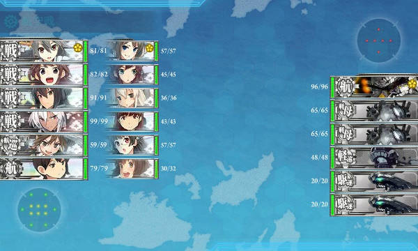 E4栗田艦隊空襲マス01