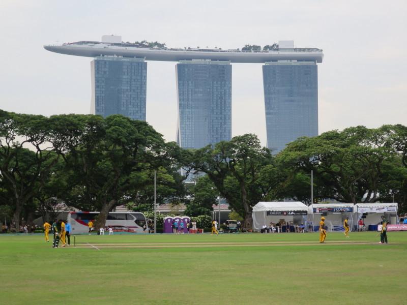 シンガポール 散歩