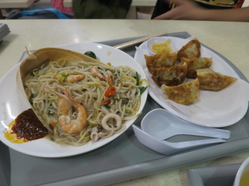 シンガポール 晩御飯