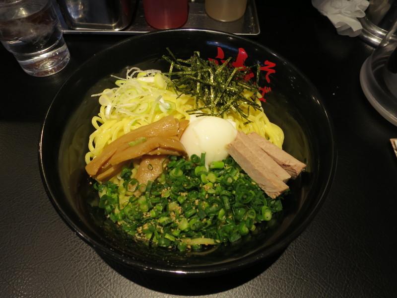 東京油組総本店 町田組 油そば お昼ごはん スペシャルトッピングA列車