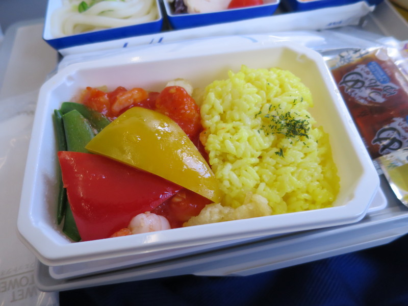 ANA 機内食 おいしい?