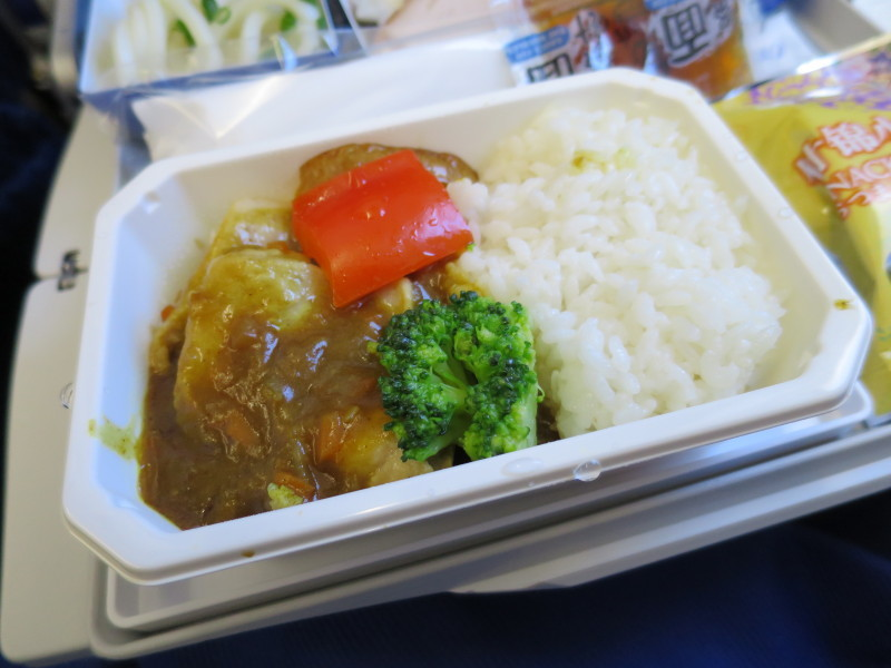 NH978 機内食