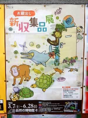 埼玉県立自然の博物館ポスター