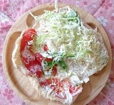 オリジナル野菜サンド + コンビーフ