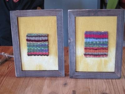枠入り色糸織りー2