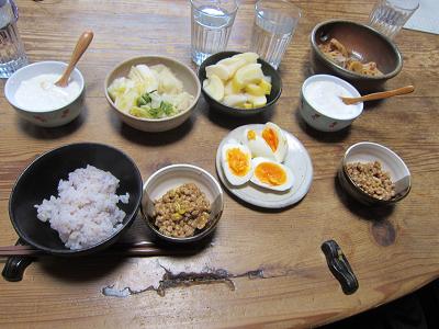 我が家の朝食 (1)-1