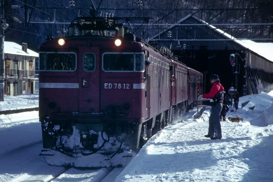 奥羽本線 峠2 1990年1月 16bitAdobeRGB原版 take1b