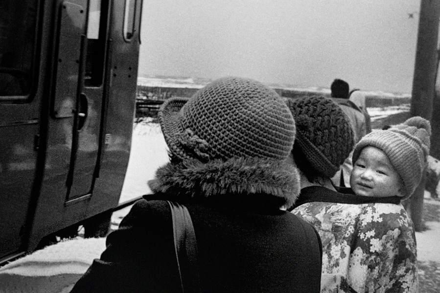 A3プリント用 五能線 大戸瀬駅のホーム2 198年 月 日 16bitAdobeRGB原版take1b