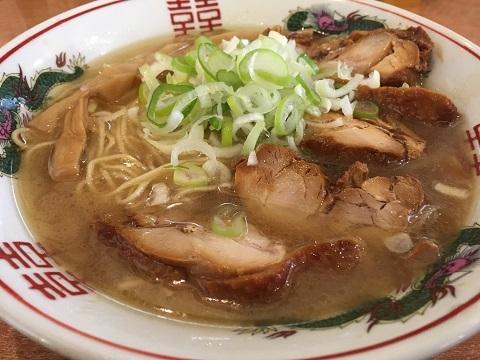 出汁チャーシュー麺